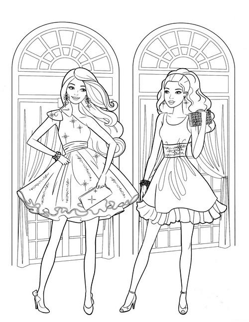 Раскраски для девочек 12 лет распечатать сложные - 8