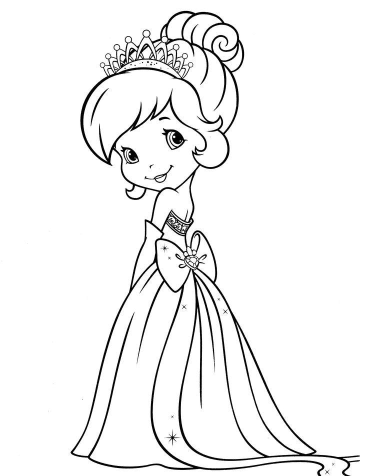 раскраска для девочек шери в платье принцессы край друзей