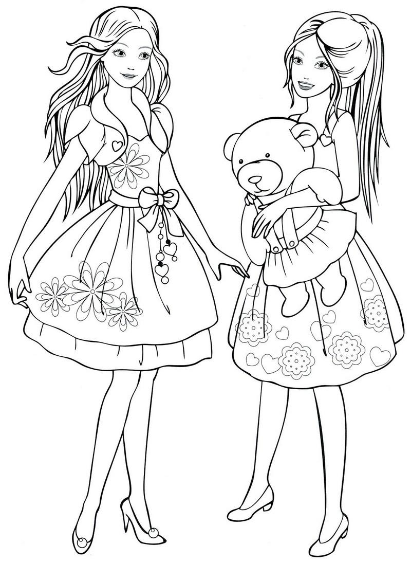 Раскраска для девочек 11 12 лет - 10