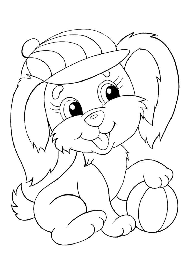 раскраска зайчик для детей 3 4 5 лет край друзей