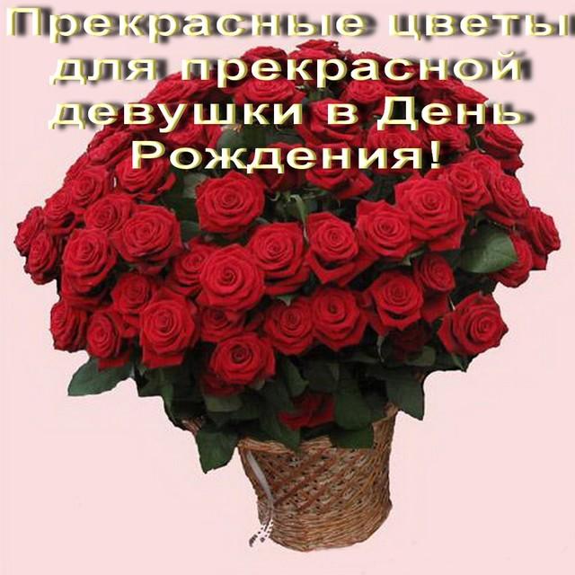 Поздравления с др красивое для девушки